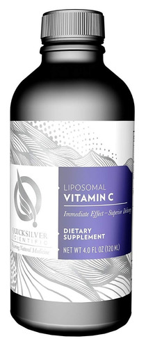 quicksilver scientific liposomal vitamina c - 120 ml