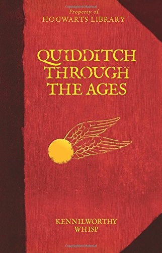 quidditch through the ages harry potter - hogwarts libr *sk