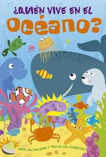 ¿quién vive en el océano?(libro infantil)