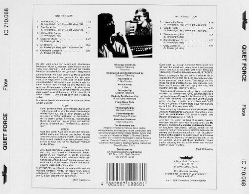quiet force - flow - cd importado impecable + envios