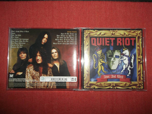 quiet riot - alive and well cd nac ed 2008 mdisk