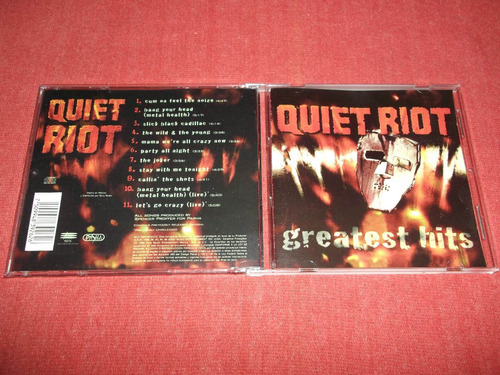 quiet riot - greatest hits cd nac ed 1996 mdisk