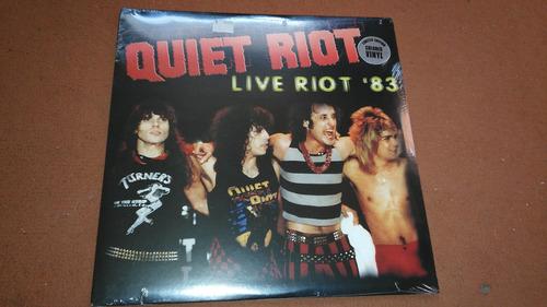 quiet riot  live '83    vinilo