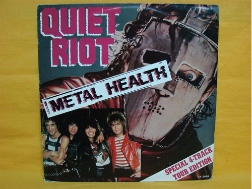 quiet riot metal healt tour edition vinilo single lp maiden