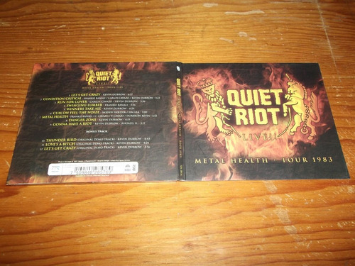 quiet riot - metal health tour en vivo cd nac ed 2008 mdisk