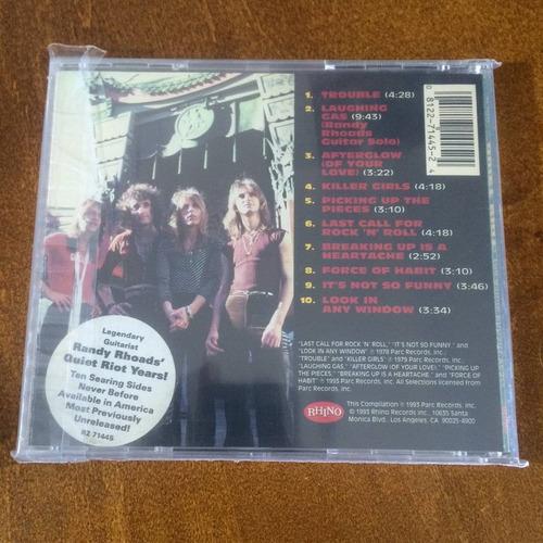 quiet riot - the randy rhoads years (cd, 1993)