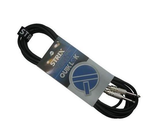 quik lok strix cable sx764-5 /cable guitarra 5 metros