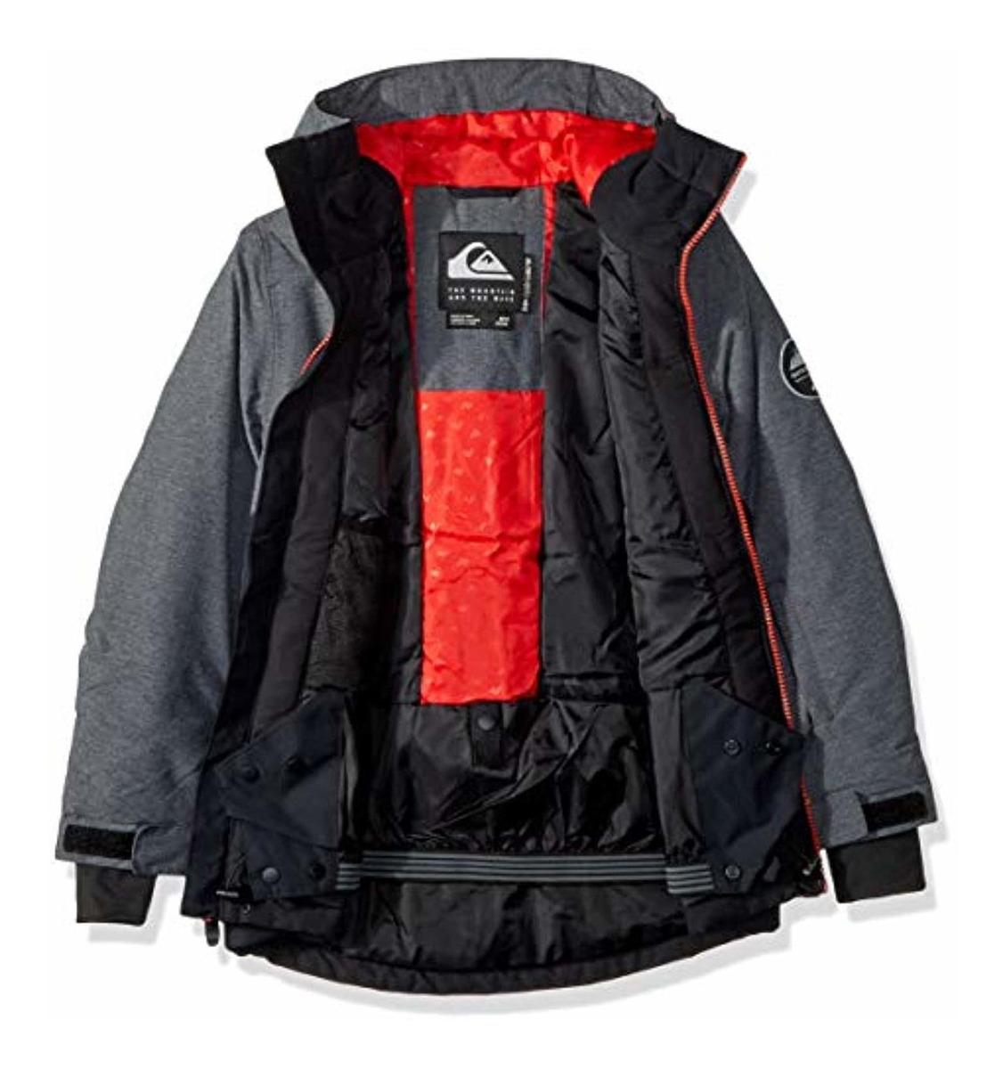 Quiksilver Boys Sierra Youth 10k Snow Jacket