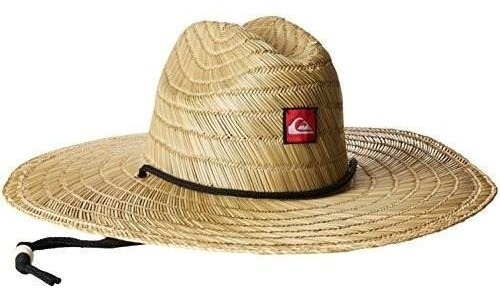 quiksilver mens pierside straw sun hat
