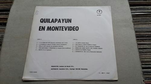 quilapayun en montevideo