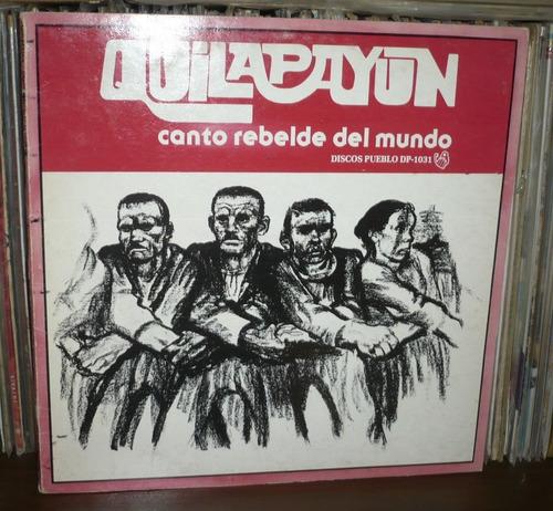 quilapayun lp canto rebelde del mundo