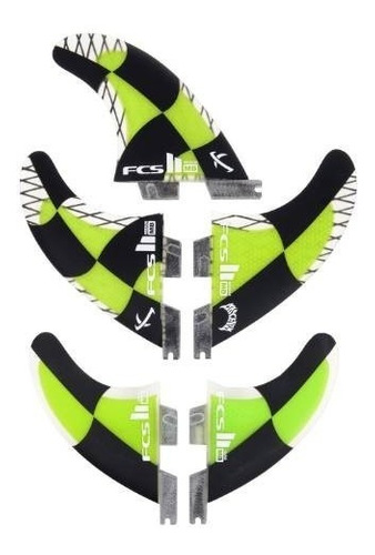 quilha fcs ii 2 tri quad matt mayhem biolos carbon medium m