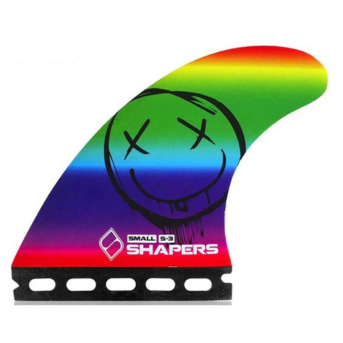 quilha shapers fins s3 collection series - s encaixe único