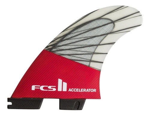 quilhas fcs 2 accelerator carbono s/ uso na embalagem fcs ii