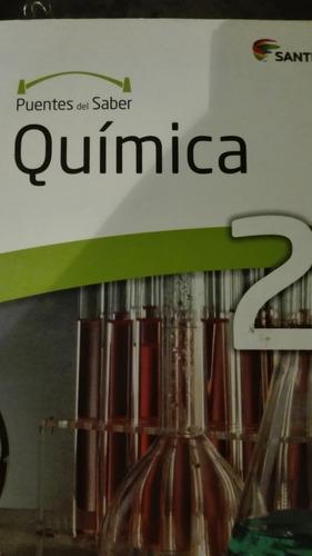 quimica ,2do medio, puentes del saber, santillana