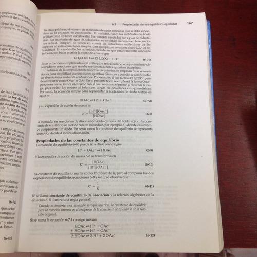 química analítica contemporanea. editorial pearson.