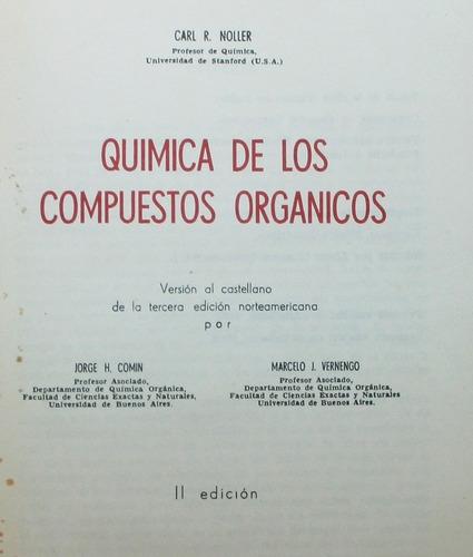 química de los compuestos organicos / noller