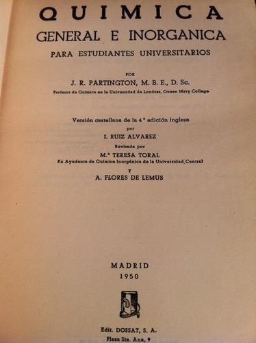 química general e inorgánica - partington z3
