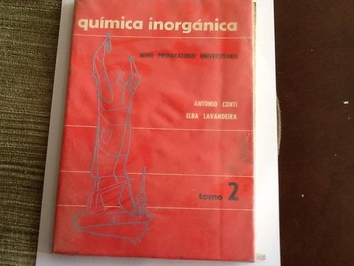 quimica inorganica. tomos 1 y 2
