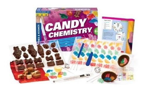 química,juguete química caramelo