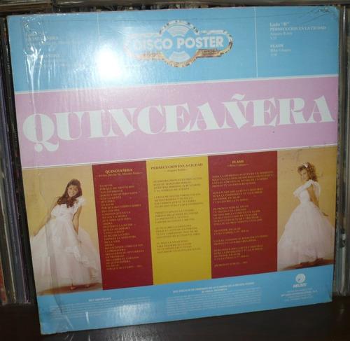 quinceañera lp con poster