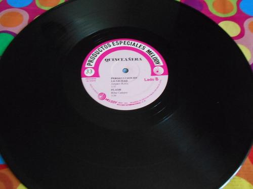 quinceañera lp disco poster r