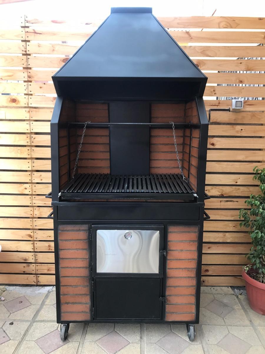 Quincho con horno de acero inoxidable a le a de ladrillo en mercado libre - Parrillas y hornos a lena ...