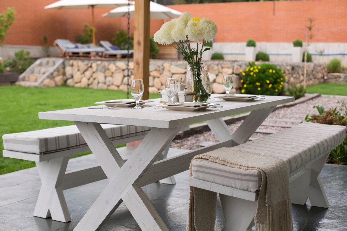 Quincho muebles de terraza en mercado libre for Muebles para terraza y jardin