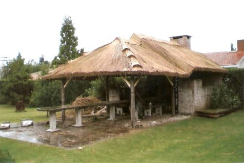 quinchos de paja techos
