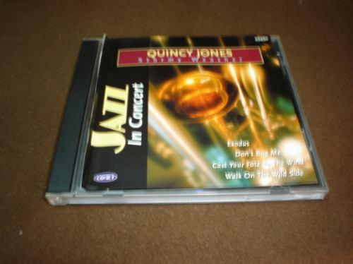 quincy jones-cd album-stormy weather-jazz in concert class1