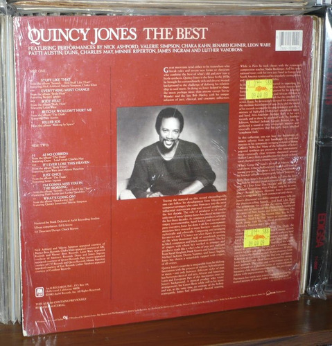 quincy jones lp the best