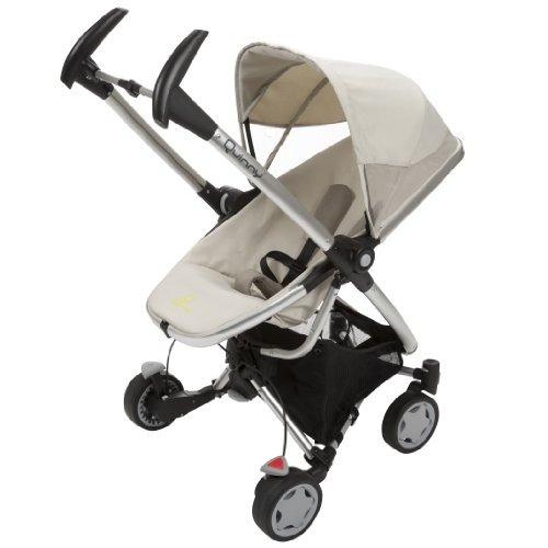 quinny zapp xtra stroller con asiento plegable, natural