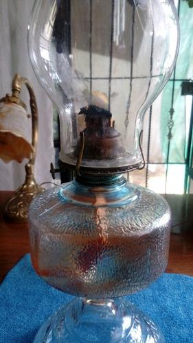 quinque de petroleo antiguo de cristal