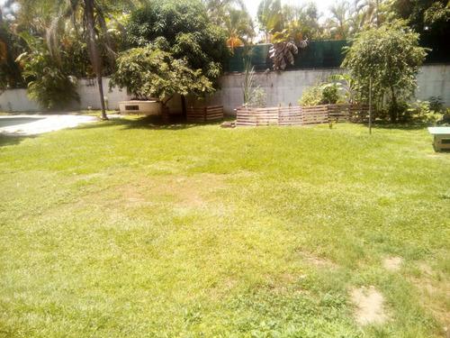 quinta con jardín para eventos