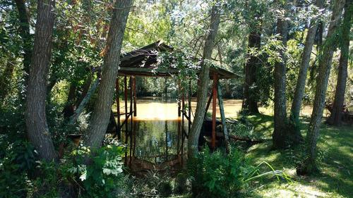 quinta de 22 hectareas delta del tigre arroyo andresito