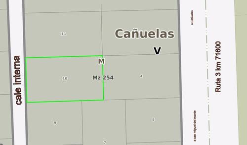 quinta en cañuelas. ruta 3 km 71.600