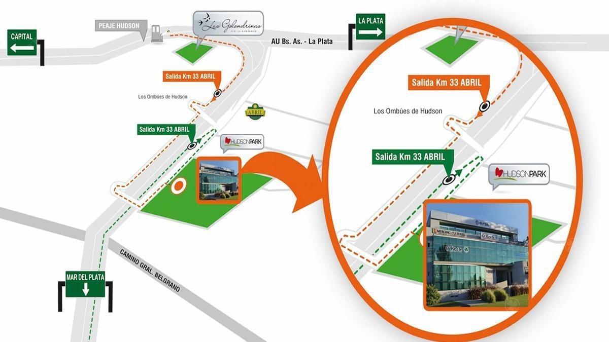 quinta ideal para uso comercial sobre ruta 2