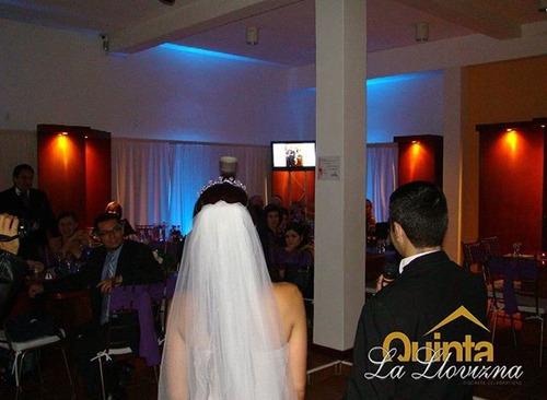 quinta p/90 invitados boda civil,cristiana, bautizos