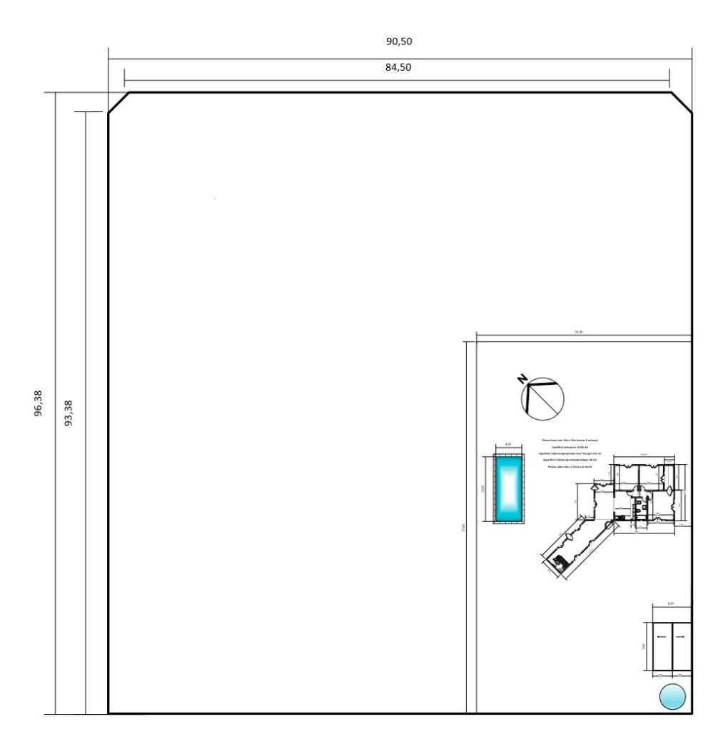 quinta - pileta 10x4 - casi 1 hectárea 170m2 cub villa elisa