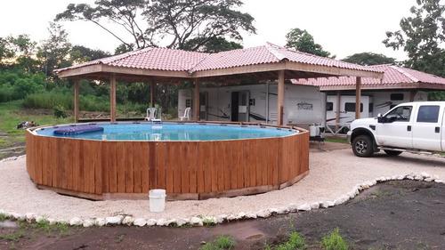 quinta playa ganga rancho piscina camper menaje