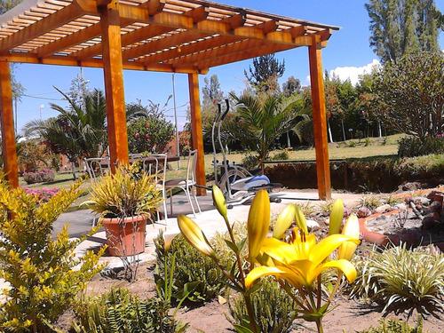 quinta quinche con hermosos jardines