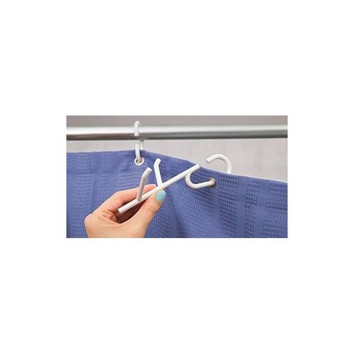 quirky branch 12 anillos de ducha blanco (3 c + envio gratis