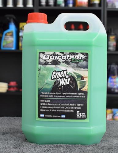 quirofano detail green wax cera liquida alta calidad