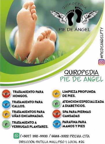 quiropedia pie de angel / el mejor cuidado para tus pies spa