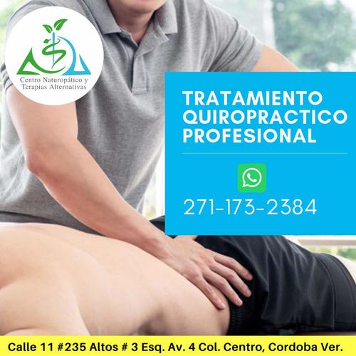 quiropráctica, acupuntura y masaje