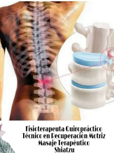 quiropractico- fisioterapeuta -recuperación motriz