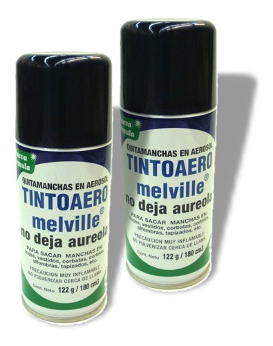 quita manchas en aerosol tintoaero melville pack 2un