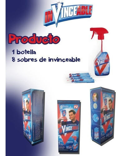 quita manchas multiusos (invinceable)