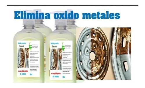 quita oxido para metales litro
