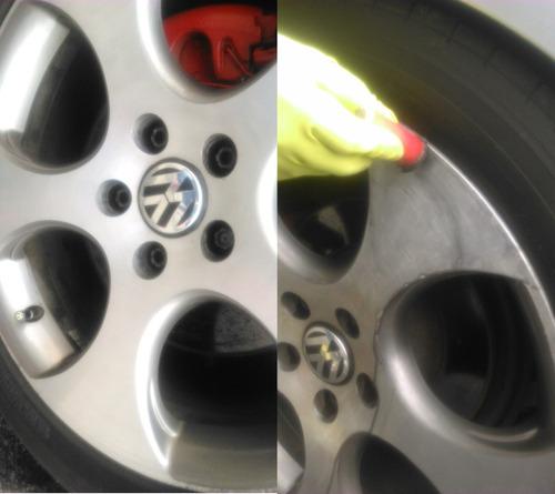 quita oxido pulidor de rines autos coches sartenes metales